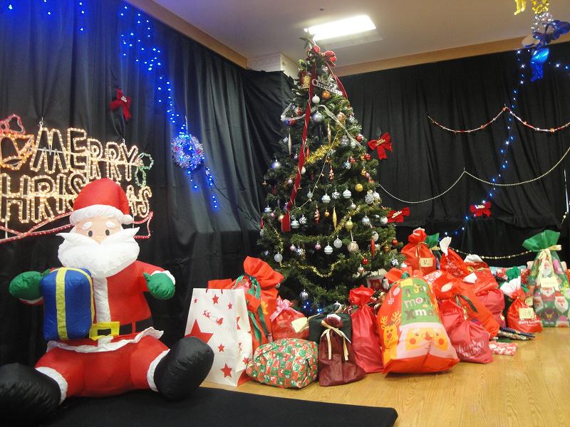 学院クリスマス会1